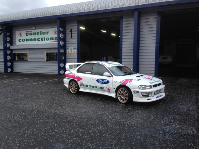 Courier Connections Racing Subaru Impreza