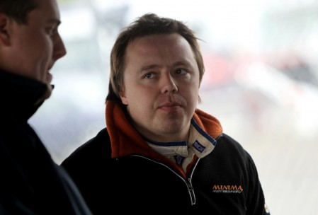 Vic Covey (GBR) Ginetta G40