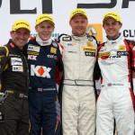 Race 1 Podium -  - Courtesy Jakob Ebrey Photography