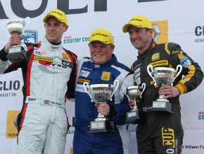 Race 2 Podium, James Colburn(1st), Paul Rivett (2nd) Mike Bushell (3rd)
